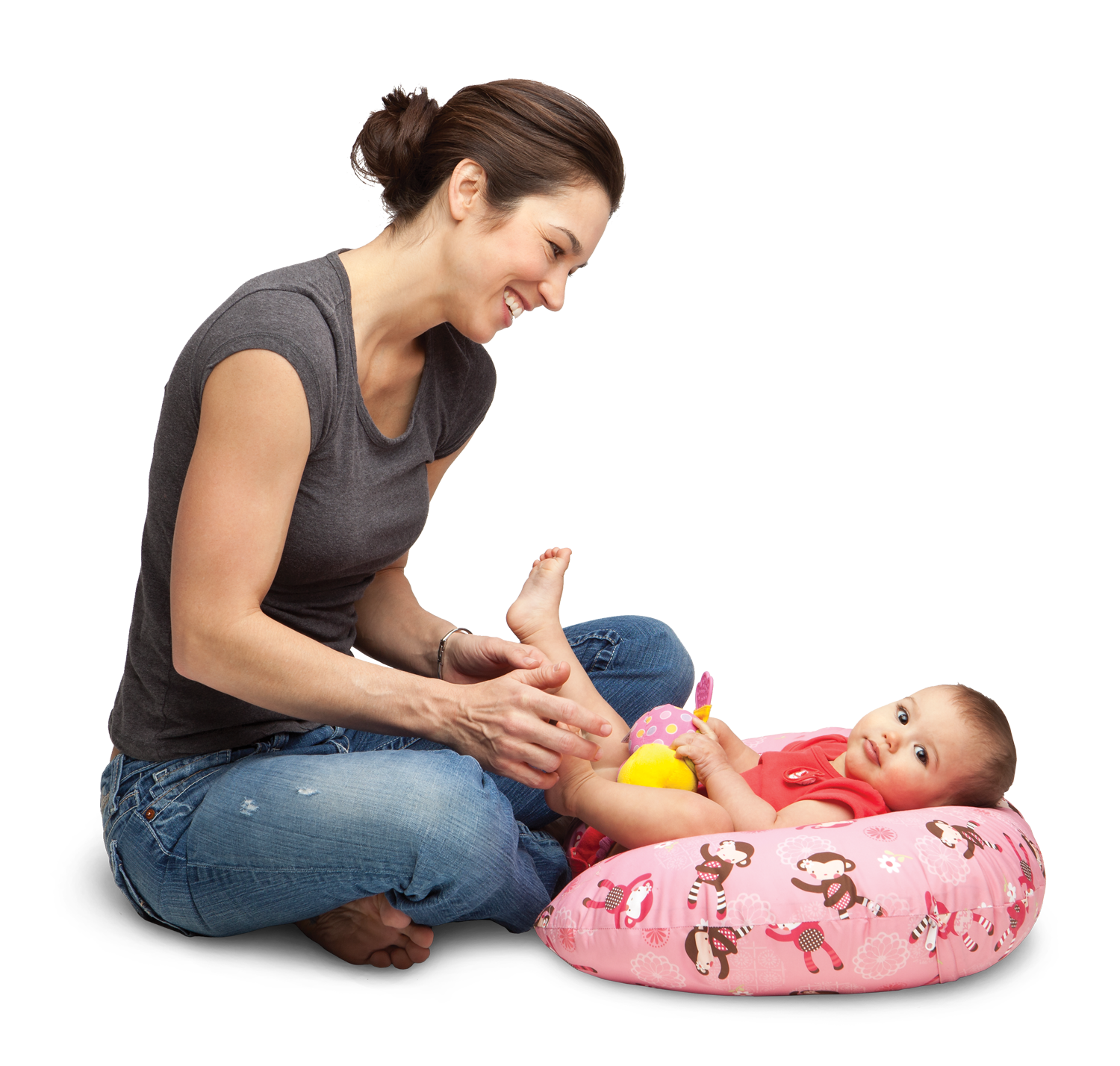 Mom And Baby Png - Boppy Delivers #1 Baby Product To Denveru0027S First Babies Of 2011, Transparent background PNG HD thumbnail