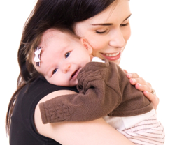 Mom And Baby Png - Mom Cuddling Baby.png Hdpng.com , Transparent background PNG HD thumbnail