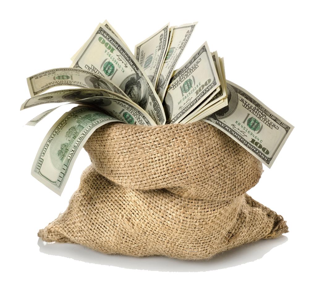 Money Bag Transparent Background - Money, Transparent background PNG HD thumbnail