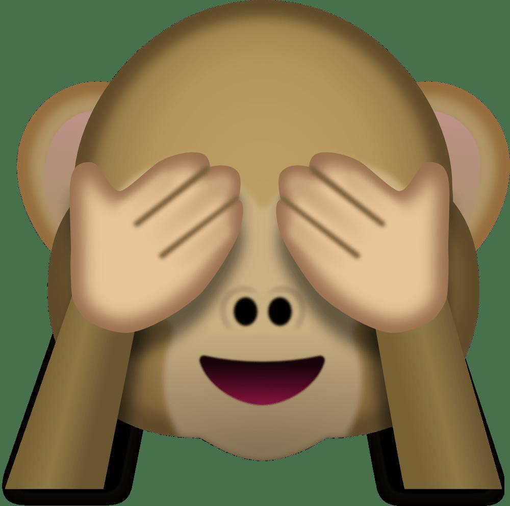 Monkey Face Emoji - Emoji, Transparent background PNG HD thumbnail