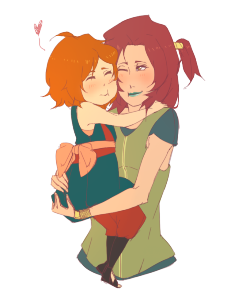Mother And Daughter Hug Png - Best, Transparent background PNG HD thumbnail