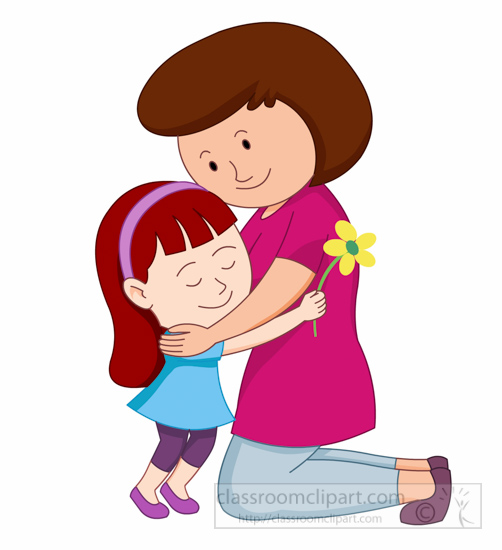 Mother And Daughter Hug Png - Mom, Transparent background PNG HD thumbnail