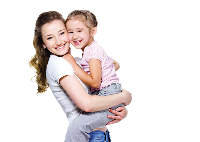Mother And Daughter PNG