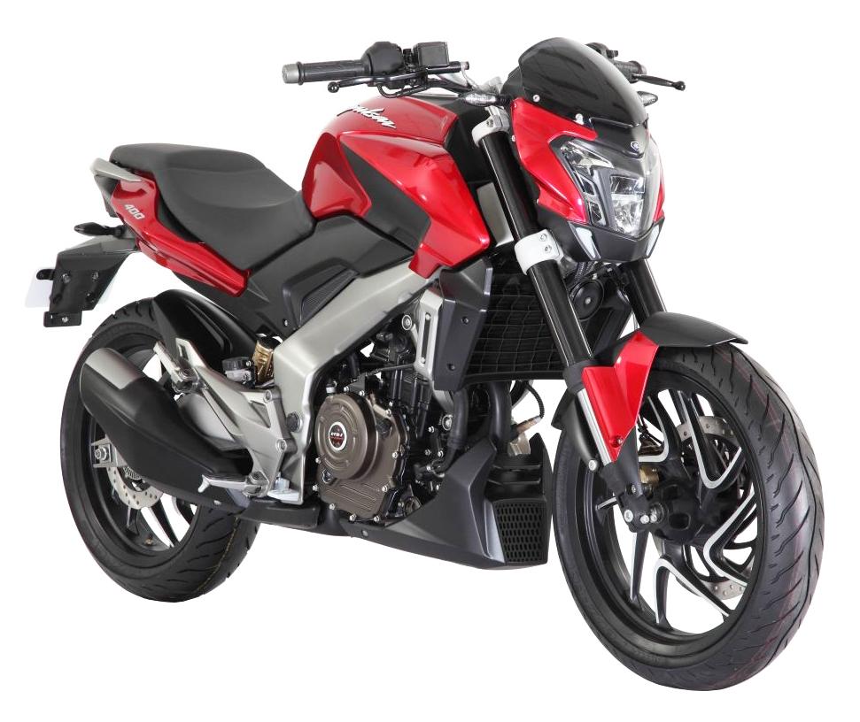 Red Bajaj Pulsar Motorcycle Bike Png Image - Motorbike, Transparent background PNG HD thumbnail