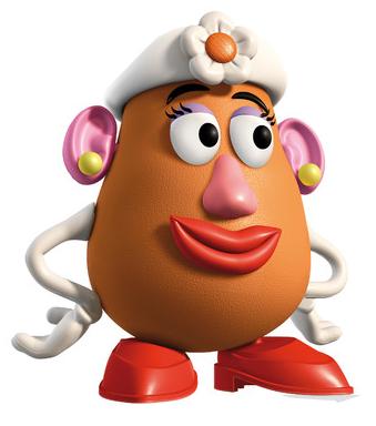 Mrs Potato Head PNG