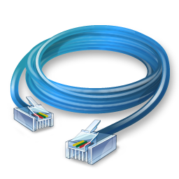 Ethernet Cable Icon - Network Cable, Transparent background PNG HD thumbnail