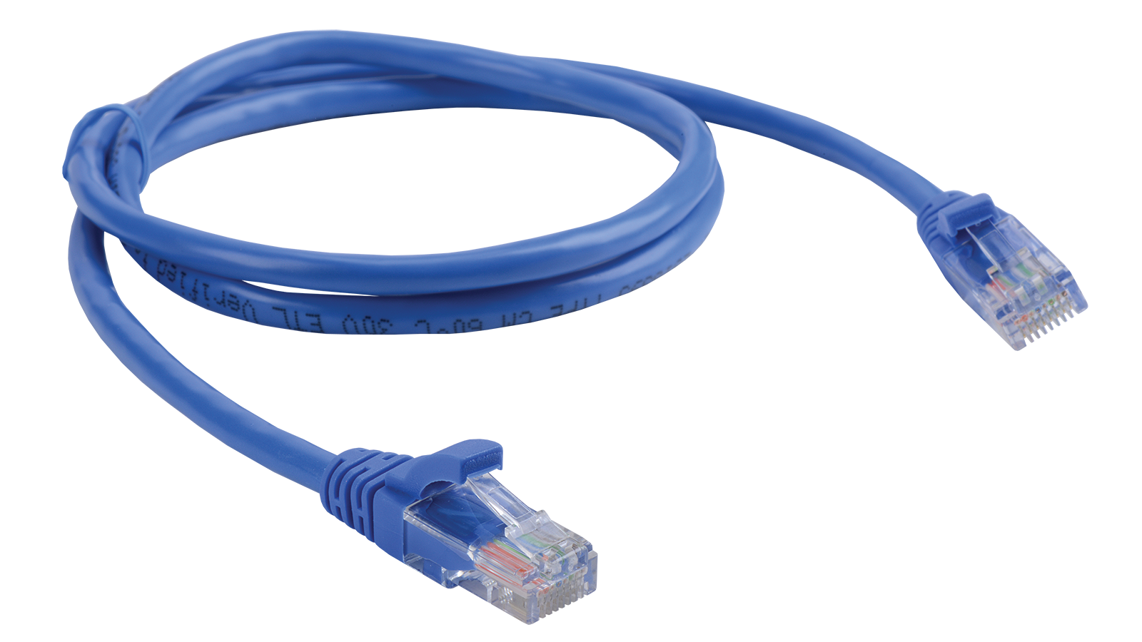 Lan Solutions Category 5E U/utp Pre Made Patch Cable - Network Cable, Transparent background PNG HD thumbnail