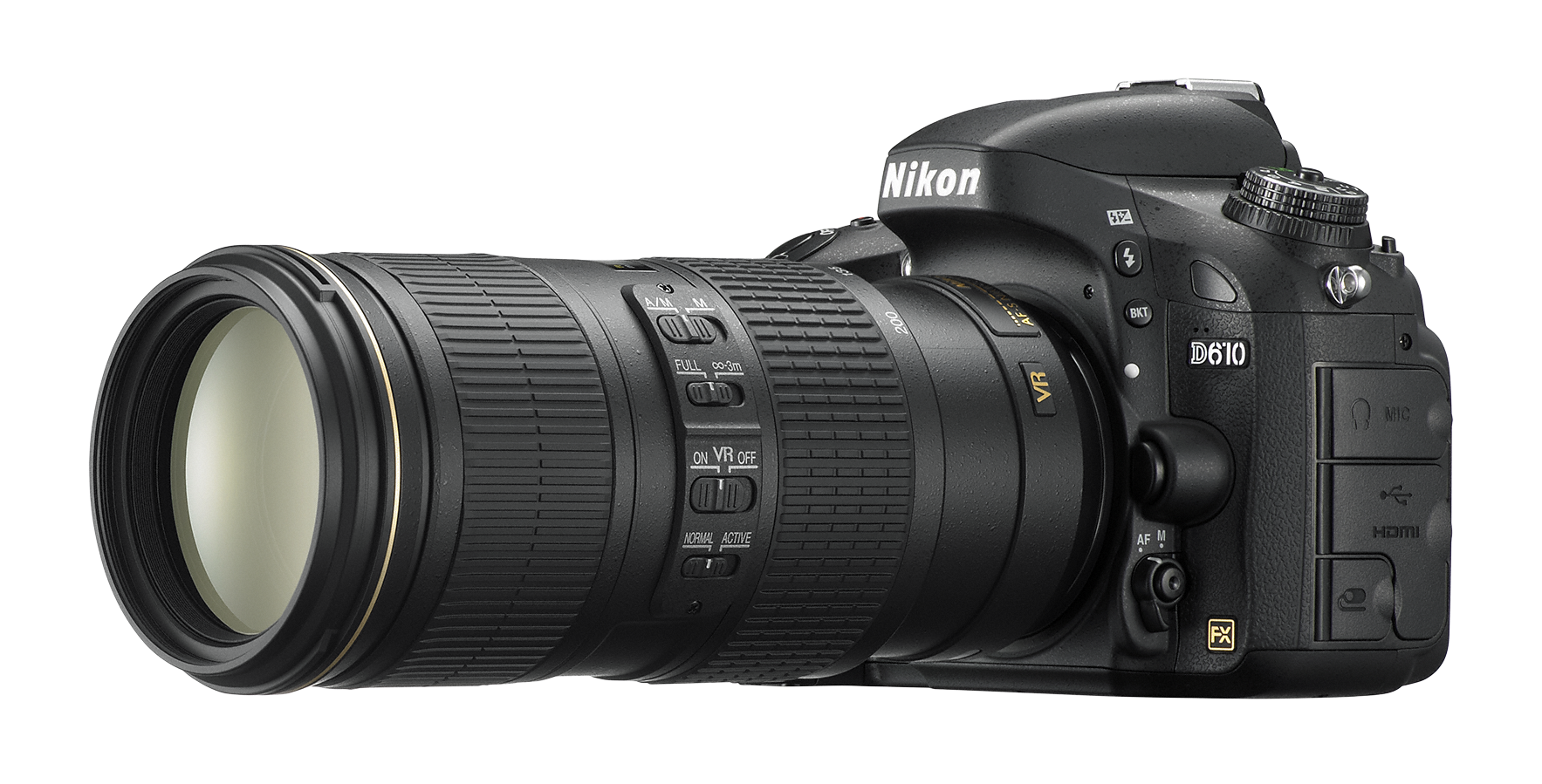 D610_70_200.png - Nikon, Transparent background PNG HD thumbnail