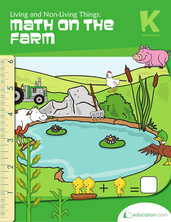 Non Living Things Pictures For Kids Png - Kindergarten Math Workbooks: Living And Non Living Things: Math On The Farm, Transparent background PNG HD thumbnail