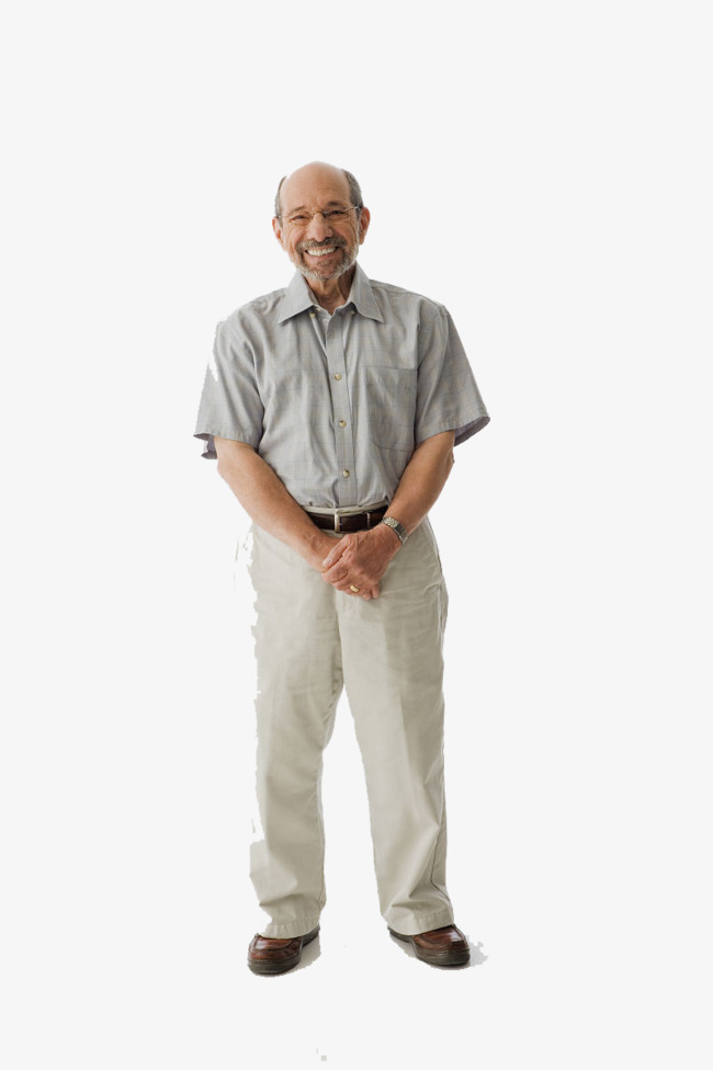 Old Man Standing Png - Cute Old Man Standing On The Whole Body, Smiling Old Man, Kind, Body, Transparent background PNG HD thumbnail