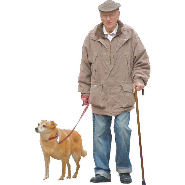 Old Man Standing Png - Im A Grumpy Old Man But My Dog , Transparent background PNG HD thumbnail