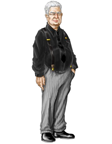 Old Man Standing Png - The Old Man.png, Transparent background PNG HD thumbnail
