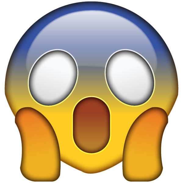 Omg Face Emoji Png. Shocked And Scared By Something Incredibly Alarming? This Emoji Captures - Emoji, Transparent background PNG HD thumbnail