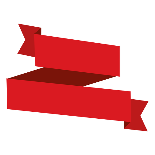 Origami Red Ribbon Png - Ribbon, Transparent background PNG HD thumbnail