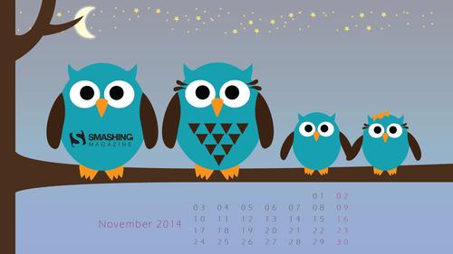 Owl Calendar Png - Creative, Transparent background PNG HD thumbnail