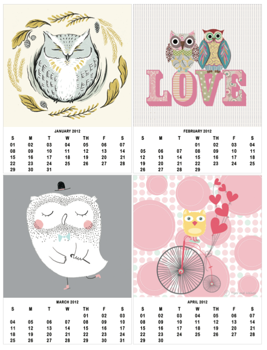 Owl Calendar Png - Printable Owl Calendar, Transparent background PNG HD thumbnail