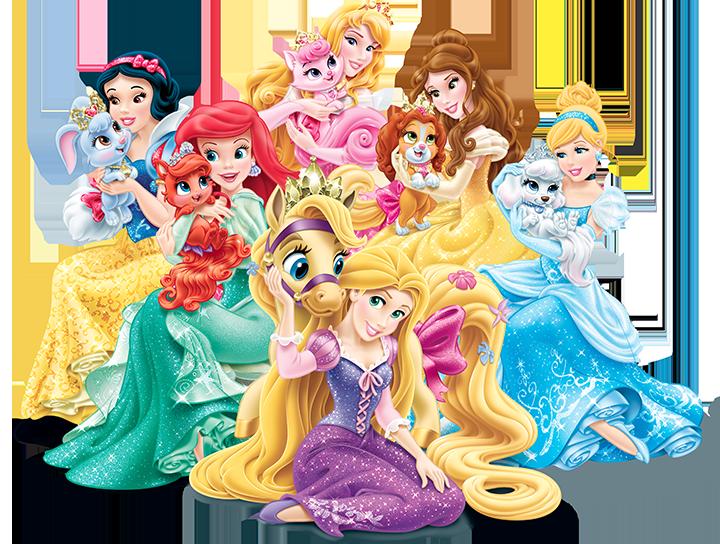 Palace Pets   Disney Princess.png - Disney Princesses, Transparent background PNG HD thumbnail