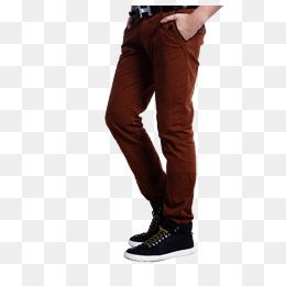 Men\u0027S Casual Pants, Men\u0027S, Leisure, High  - Pants, Transparent background PNG HD thumbnail