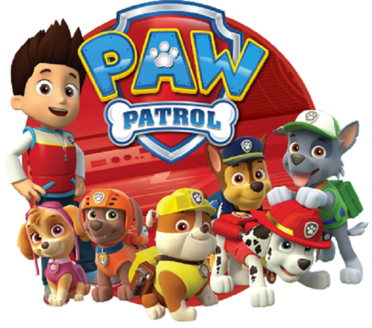 Paw Patrol PNG HD