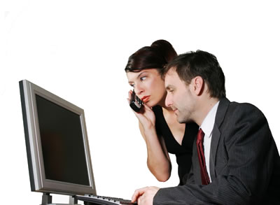 People Using Computer Png - People Using Computer Png Hdpng.com 400, Transparent background PNG HD thumbnail
