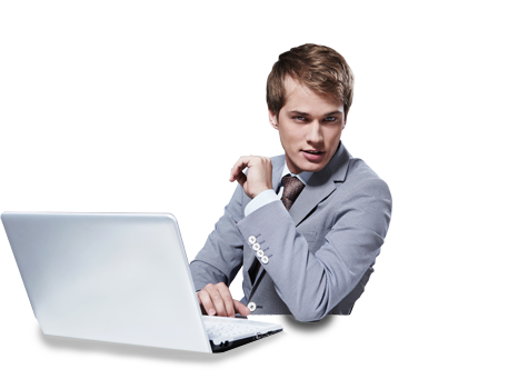 People Using Computer Png - Pc Dudes, Transparent background PNG HD thumbnail