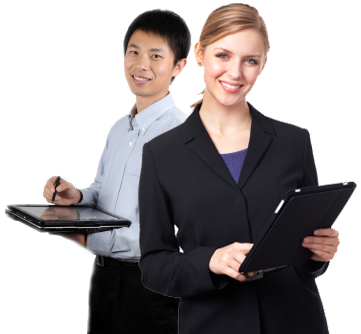People Using Computer Png - Why To Choose Us?, Transparent background PNG HD thumbnail