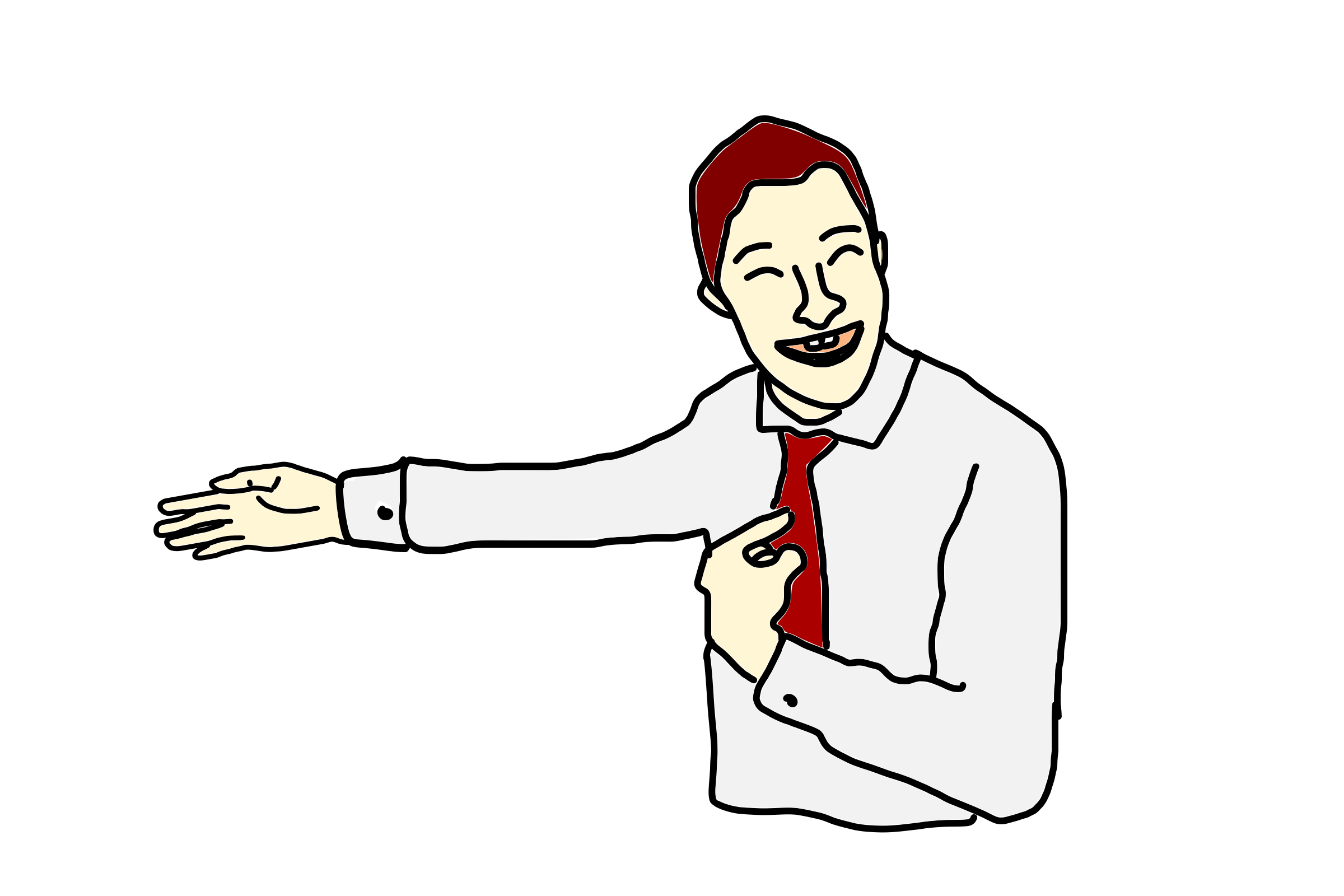 Person Pointing At Himself PNG
