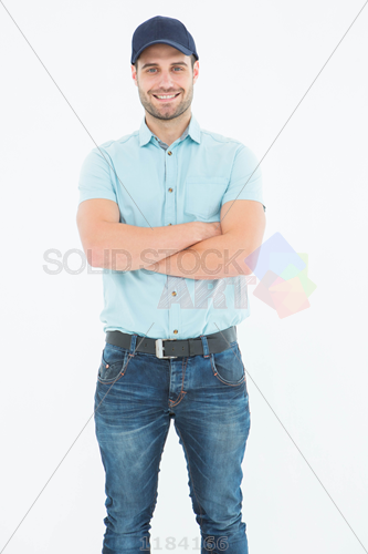 Person With Arms Crossed PNG