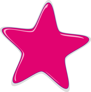 Pink Star PNG HD