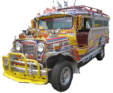 Pinoy Jeepney PNG