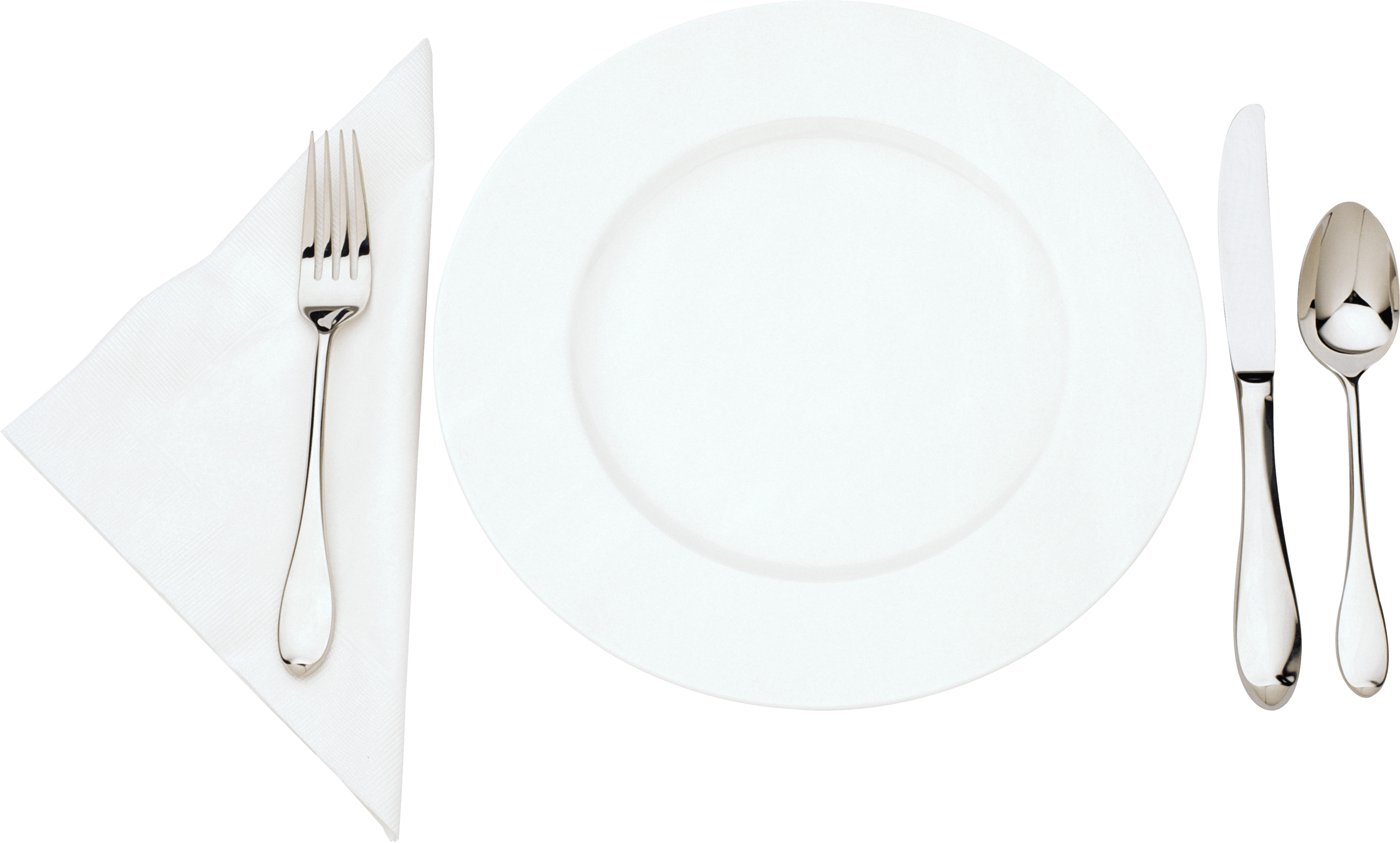 Plate Cutlery - Plate, Transparent background PNG HD thumbnail