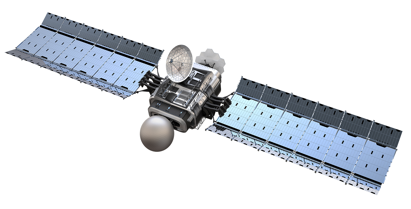 Png 1417X723 Boeing Satellite Background - Satellite, Transparent background PNG HD thumbnail