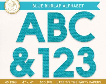 Png Alphabet Letter E On Burlap - Blue Burlap Alphabet: Rustic Burlap Alphabet Letter Clipart. Digital Scrapbook Alphabet., Transparent background PNG HD thumbnail