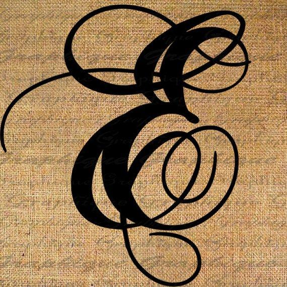 Png Alphabet Letter E On Burlap - Monogram Initial Letter E Digital Collage Sheet Burlap Digital Download Calligraphy 4 Burlap Transfer 2 Pillow Tote Tea Towels No. 2089E, Transparent background PNG HD thumbnail