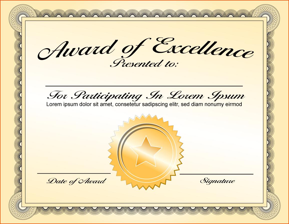 PNG Certificates Award
