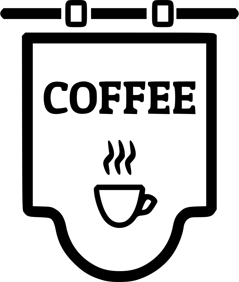Png Coffee Shop - Coffee Shop Sign Comments, Transparent background PNG HD thumbnail