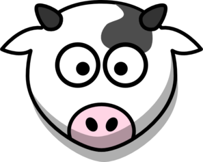 Png Cow Head - Cow Head Only Small Eyes Clip Art, Transparent background PNG HD thumbnail