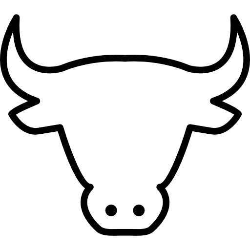 Png Cow Head - Cow Head Outline Free Icon, Transparent background PNG HD thumbnail
