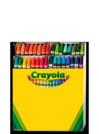 PNG Crayon Box