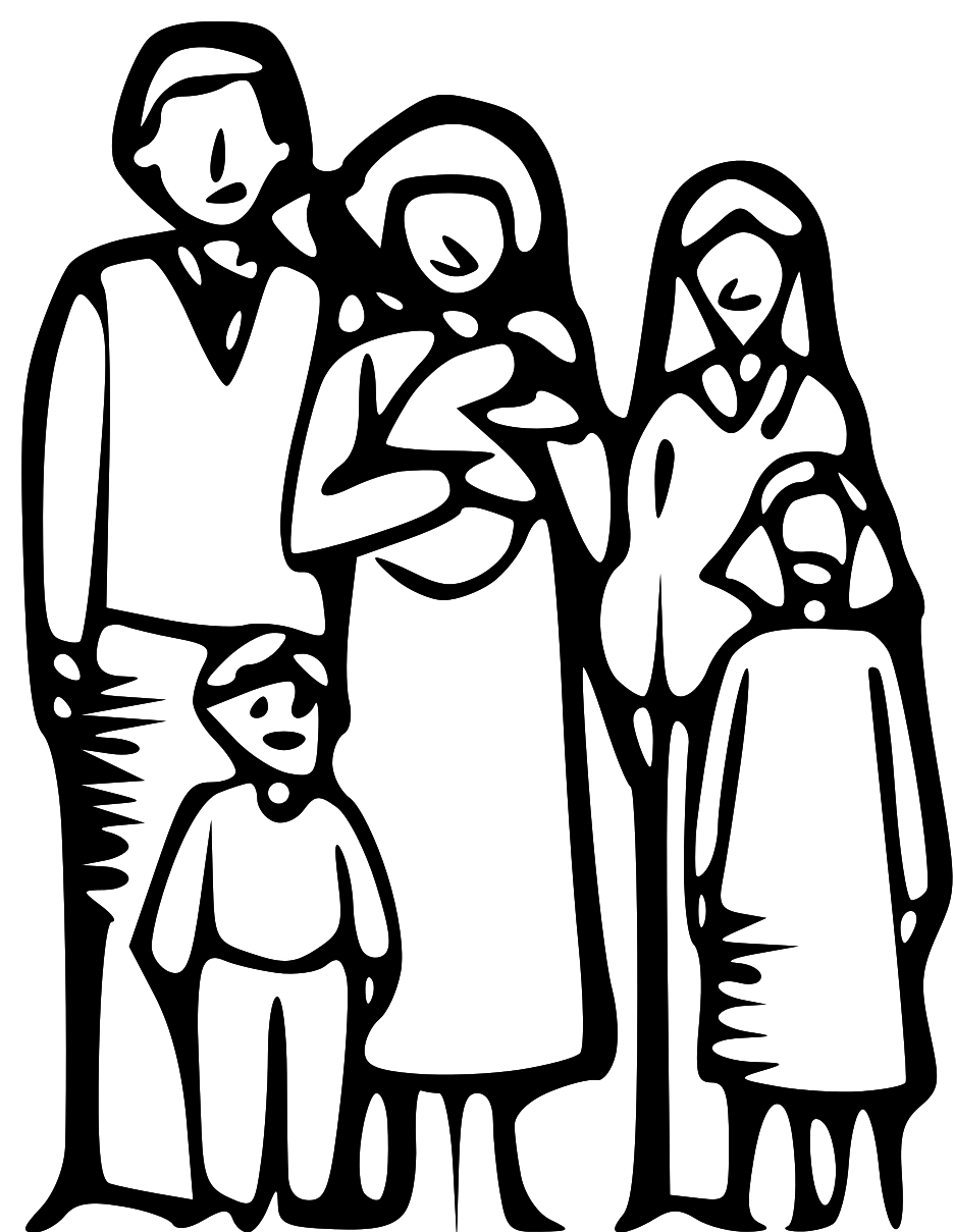 Png Family Of 6 - Family, Transparent background PNG HD thumbnail