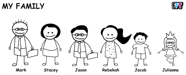 Png Family Of 6 - Page 2 For Queryshowing Create Stick Figure Icon | Picturespider Pluspng.com, Transparent background PNG HD thumbnail