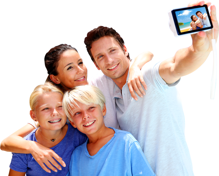 Png Family Picture Hdpng.com 734 - Family Picture, Transparent background PNG HD thumbnail