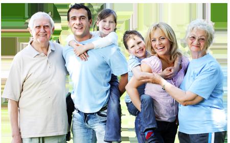 Büyük Bir Ailede Yaşamanın 10 Faydası - Family Picture, Transparent background PNG HD thumbnail
