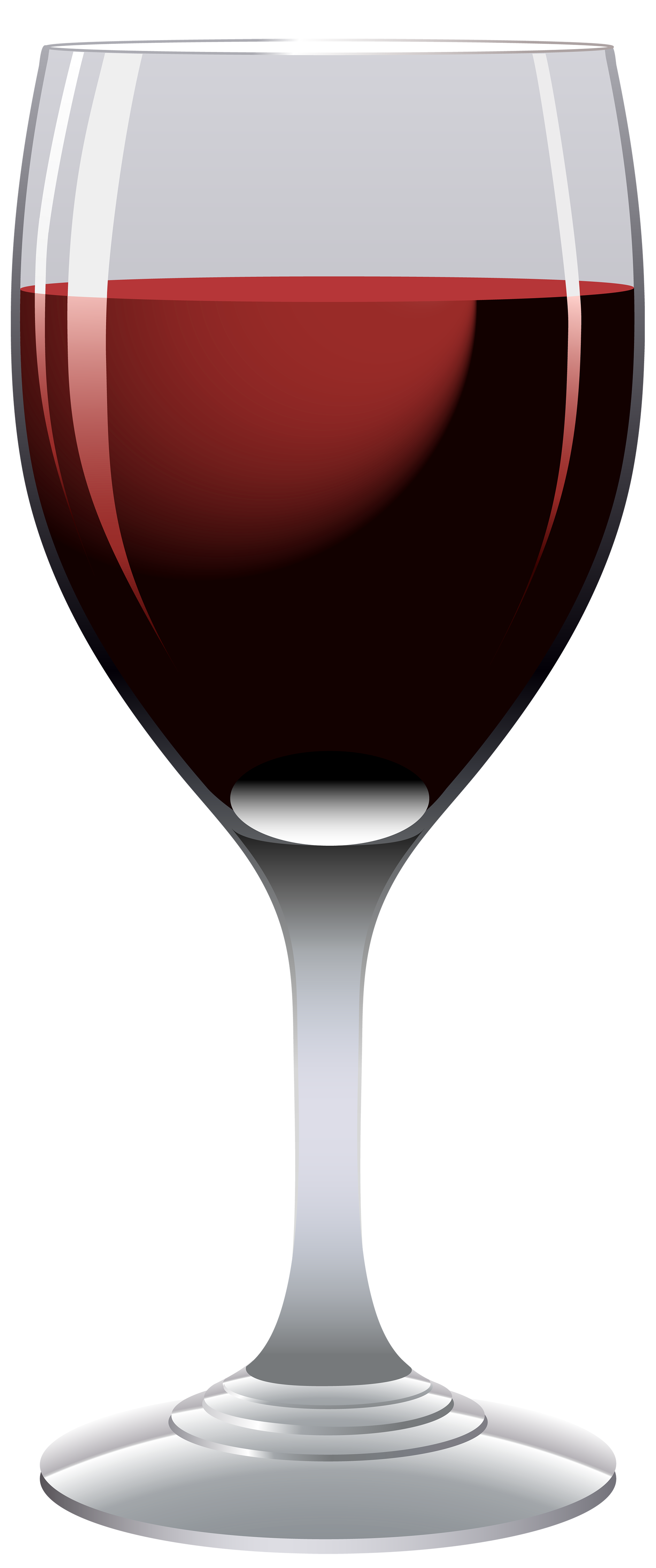 Clipart Wine Glass - Glass Of Wine, Transparent background PNG HD thumbnail