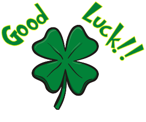 Good Luck With Lucky Flower - Good Luck, Transparent background PNG HD thumbnail