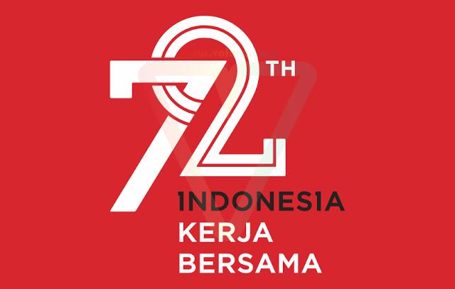Png Hari Kemerdekaan Indonesia - Logo Hut Ri 72 Kemerdekaan Indonesia Sekunder | Vector (Cdr/ai/eps/svg/png/jpg) | Voluvo, Transparent background PNG HD thumbnail