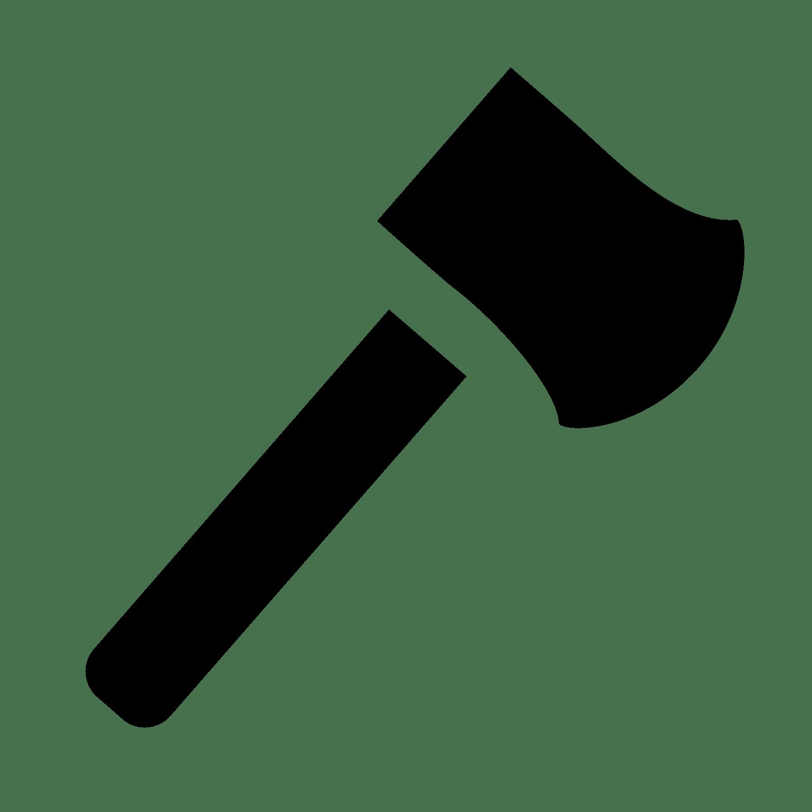 Hatchet Icon - Hatchet, Transparent background PNG HD thumbnail
