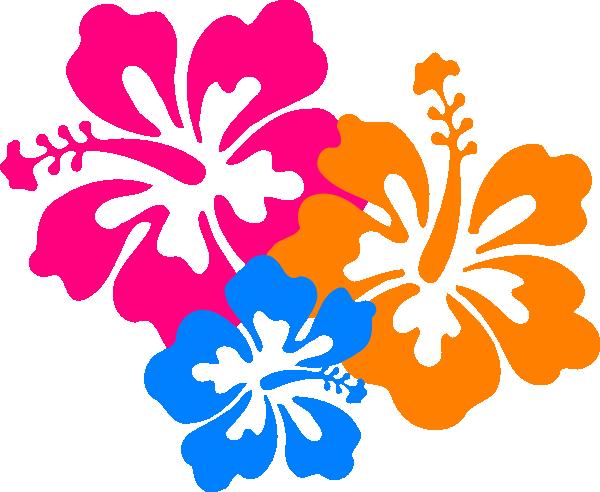 Hawaiian Flower Clip Art Borders | Clipart Library   Free Clipart Images - Hawaiian Flower, Transparent background PNG HD thumbnail
