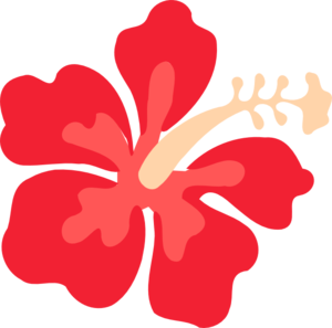 Hawaiian Flowers Clipart No Background - Hawaiian Flower, Transparent background PNG HD thumbnail
