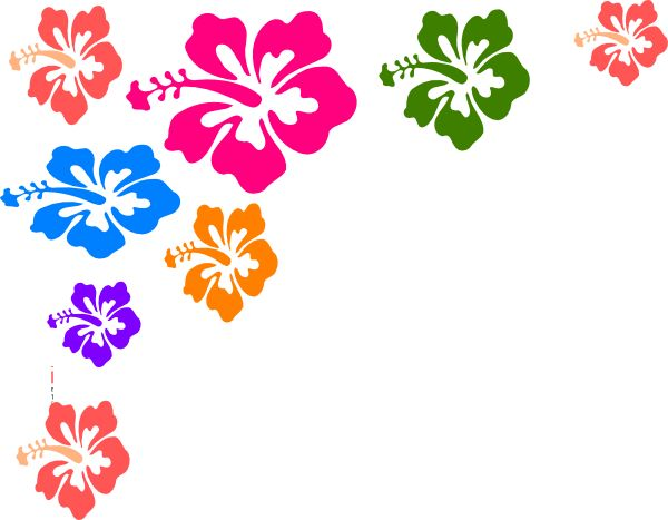 Hibiscus Flower Color Hi.png (600×467) - Hawaiian Flower, Transparent background PNG HD thumbnail